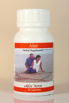 Adam from Aloe Ferox for enhanced sexual performance.
