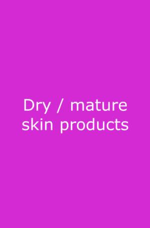 Dry mature skin